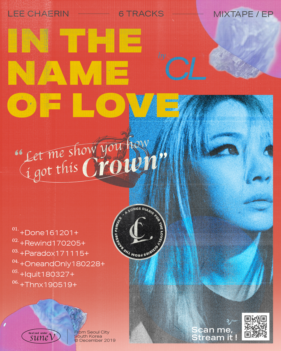 In the name of love – CL