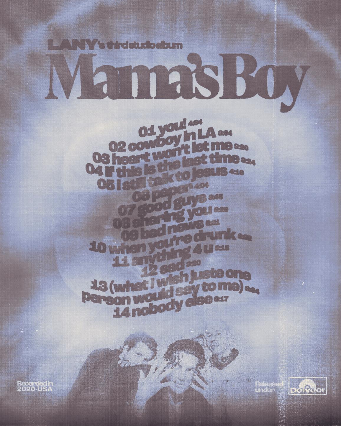 LANY – Mama's Boy